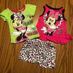 Disney Minnie Outfit Bundle